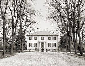 The Governor's Mansion in Virginia, 1905